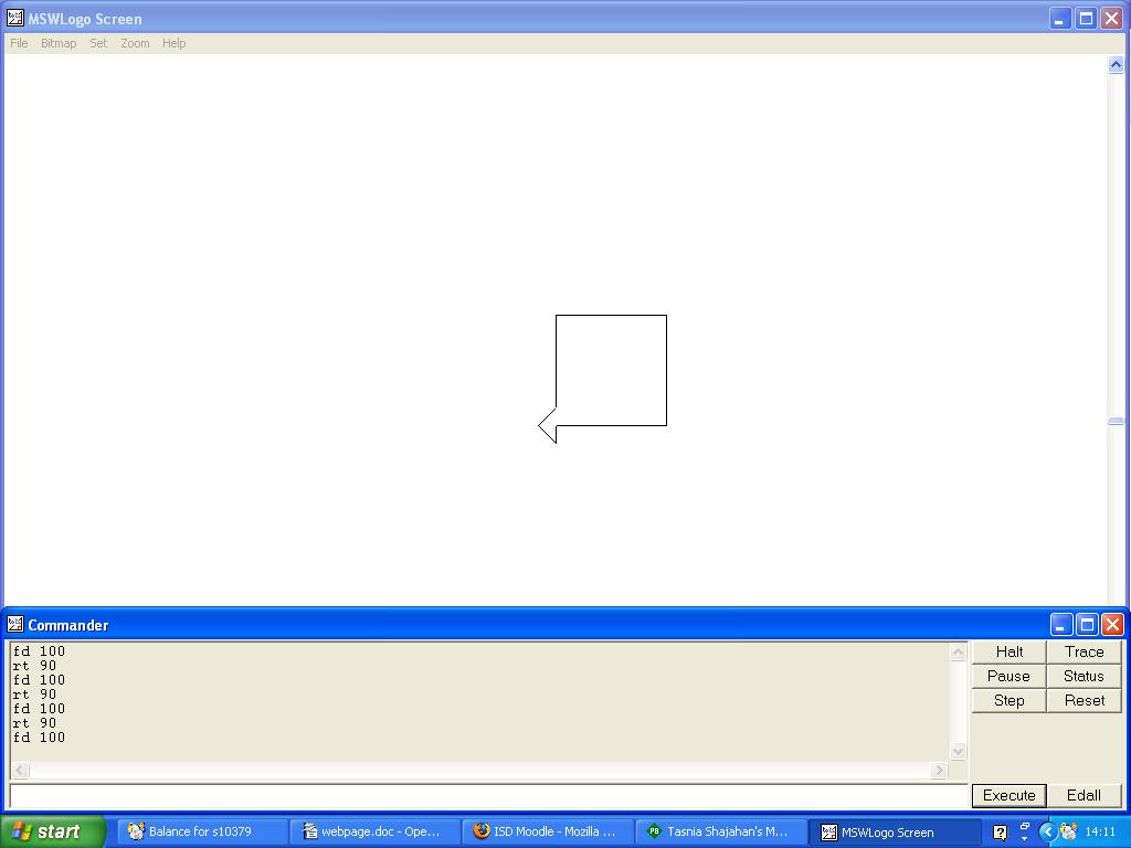 Tasnia shajahan s msw logo programming page